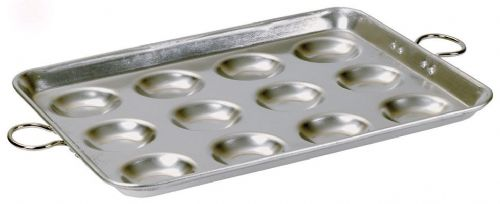 Samuel Groves Aluminium Heavy Base 400 Series Egg Fryer - 12 Indents